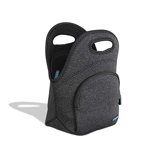 FTALGS Lunch Tasche Isoliertasche Wasserdicht Leichte Picknicktasche Mittagessen Isoliertasche Thermotasche Auslaufsichere zur Arbeit und Schule gehen (Schwarz)