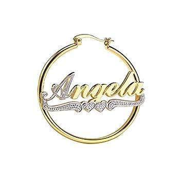 Best name earrings Reviews