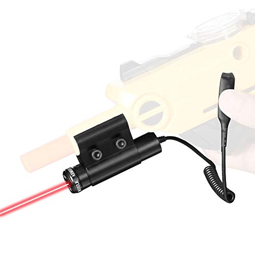 Cooque Laser Sight Beam | Bug & A Fly Salt Gun Accessory | Aiming Scope Fits 2.0, All Versions of Insect Eradication Shotgun | Lawn & Garden Insect Eradication Airsoft BB Pump Spring Assault Rifles