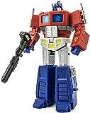 Transformers Kingdom Transformer Toys G1 Optimus Prime Mini OP Comandante con Rodillo de Remolque Volando Mochila acción Figura de 4,9 Pulgadas Figura de acción de Optimus Prime