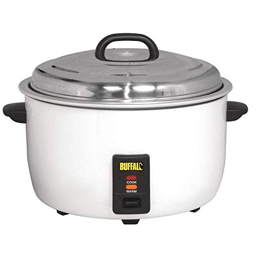 Buffalo CB944 Rice Cooker, 23L, 92 Portions