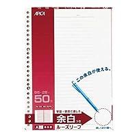 日本ノートアピカ ルーズリーフ100B BL22BN 5サツ