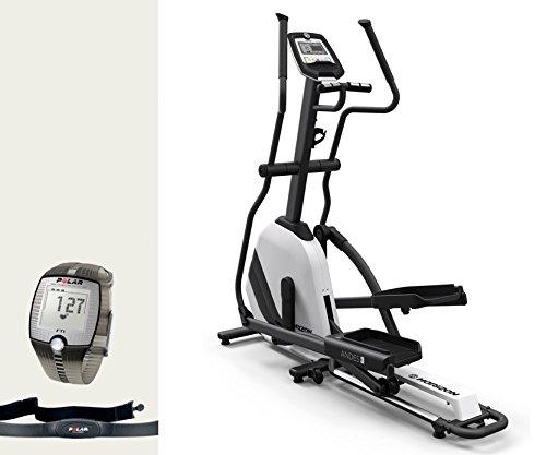 Horizon Fitness Andes 3 Elliptical Ergometer - inkl. FT1 Polar Pulsuhr und Brustgurt