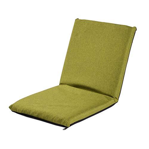 TLMYDD Canapé Lit Paresseux Tatami Canapé Chaise Pliable Canapé Paresseux (Couleur : Green)