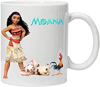 The Disney Movie Moana and hayhay Ceramic Mug