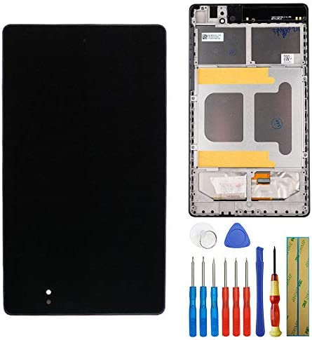 New Replacement LCD Touch Screen with Frame for Google Nexus 7 Tablet 2013 Asus ME571K Gen 2nd product image