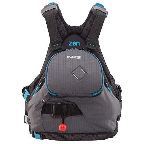 NRS Zen Lifejacket (PFD)-Charcoal/Teal-S/M