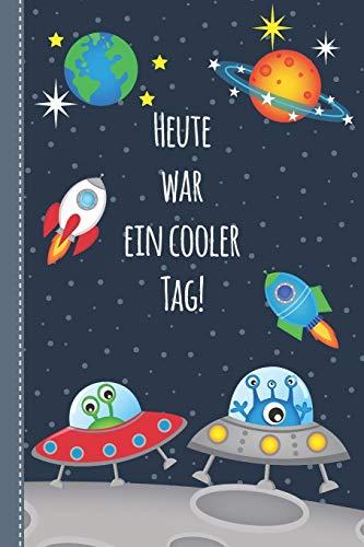 Achtsamkeit für Kinder - meine Gefühle wahrnehmen und den achtsamen Umgang mit mir selbst lernen: Achtsamkeitstagebuch und Ausfüllbuch für einen ... - Geschenkbuch für Jungen Raumfahrt blau