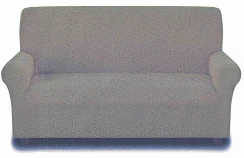 Casatessile Antimanchas: Funda para sofá de 3 plazas de 180 a 250 cm - Panna - Panna