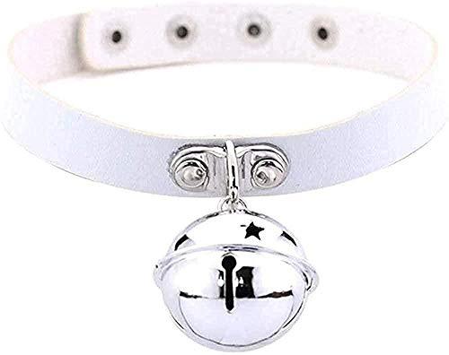 WYDSFWL Collar Gargantilla de Terciopelo de Moda Collar Chocker Bells Hecho a Mano Boho IC Disfraz Regalos
