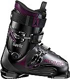 Atomic Live Fit 90 Ski Boots Womens Sz 8/8.5 (25/25.5) Black/Anthracite/Purple