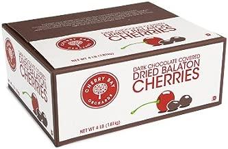 Dark Chocolate Covered Dried Montmorency Cherries 4lb box