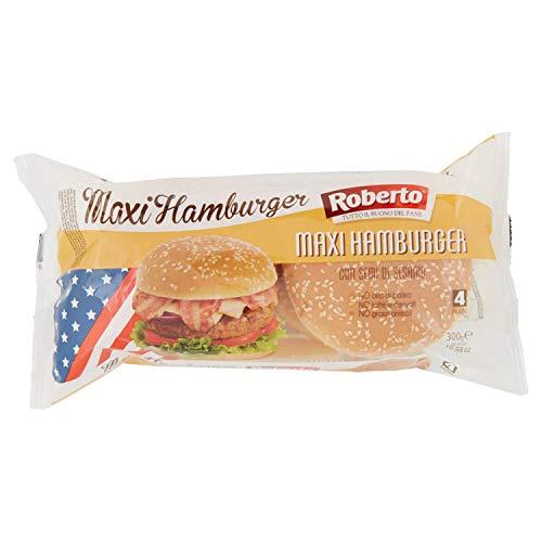 Roberto Pane Maxi Hamburger Sesamo, 300g