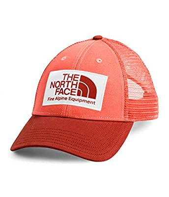 The North Face Mudder Trucker Hat, Miami Orange/Ketchup Red, OS