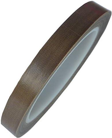 22 opinioni per HOEREV Teflon, nastro adesivo in vetro PTFE, silicone, spessore 0,13 mm,