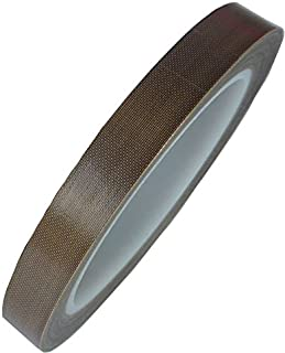 HOEREV Glass Cloth Coated PTFE Teflon Adhesive Tape,5mil30Y