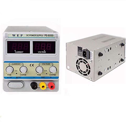 Fuente de alimentación de laboratorio dispositivo Laboratorio fuente Red dispositivo Transformador regulable DC fuente 0~ 60V 0~ 5A DEU