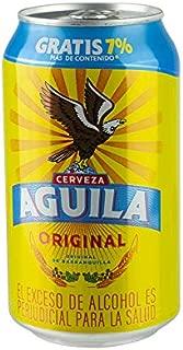 Cerveza colombiana de Cerveceria Baviera, 4% vol, Estaño 355 ml. - Cerveza AGUILA Dose 355ml