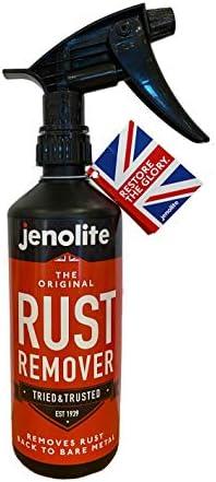 JENOLITE Original Rust Remover Liquid Trigger Spray Removes Rust Back to Bare Metal 500ml product image