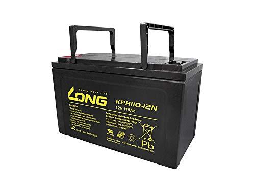 Akku kompatibel EBC12-100C 12V 110Ah AGM Batterie wiederaufladbar wartungsfrei