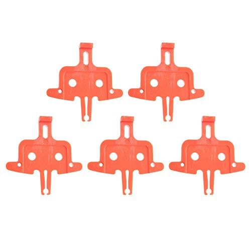 SunniMix 5pcs Idraulico Pastiglie dei Freni a Disco Distanziatore Inserto del Freno della Bicicletta Spacer Freni a Disco MTB Parti della Bici del Freno della - Uno Stile