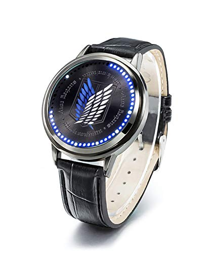 YJacuing Anime Attack on Titan Scouting Legion Collector's Edition Touch LED Watch