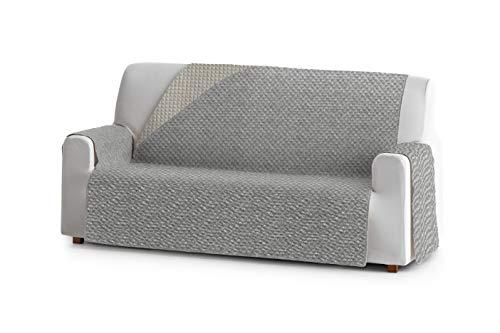 Eysa Mist Funda, Poliéster, C/6 Gris-Beige, 3 plazas 160cm. Válido para sofá Desde 170 a 210cm