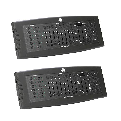 Amazing Deal American DJ ADJ DMX Operator 192-Channel MIDI Lighting Controller Board (2 Pack)