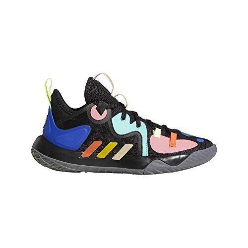 adidas Harden Stepback 2 J, Zapatillas de Baloncesto, NEGBÁS/AMARIL/MENACI, 37 1/3 EU