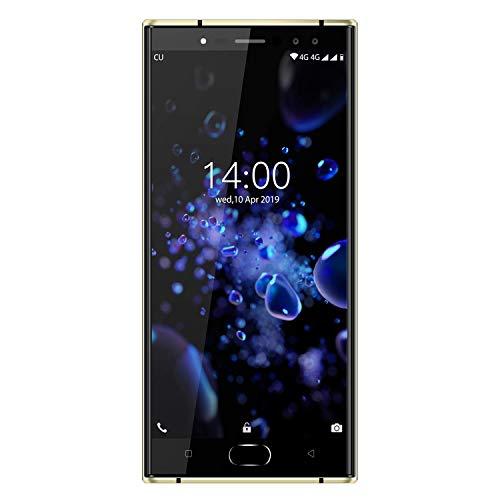 SUQIAOQIAO K3 PRO 4G RAM + 64GB Rom 5.5' FHD 16: 9 Display Telefono Mobile dello Schermo, Android 9.0 13 MP + 2MP + 13 MP + 2MP Cam 6000Mah 4G Cell Phone Face ID Sblocco,Nero