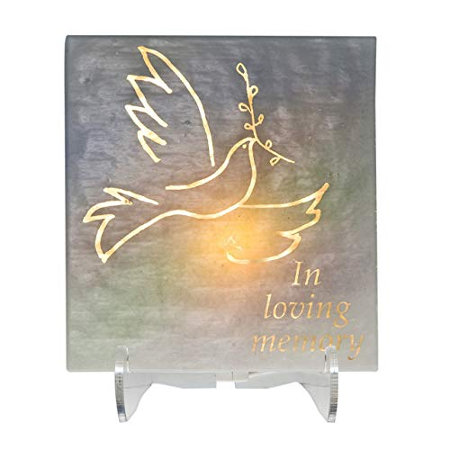 Electric Yarzheit Candle Sitting Shivah Jewish Funeral Memorial Candle Dove