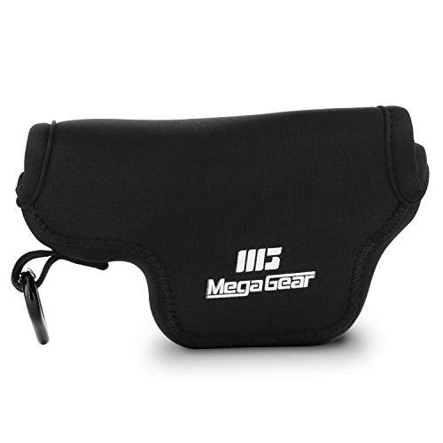 MegaGear 1579 Estuche de cámara Ultra Ligero, de Neopreno Compatible con Leica D-Lux 7, D-Lux (Typ 109) - Negro
