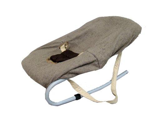 Looping funda de rizo para silla mecedora marrón