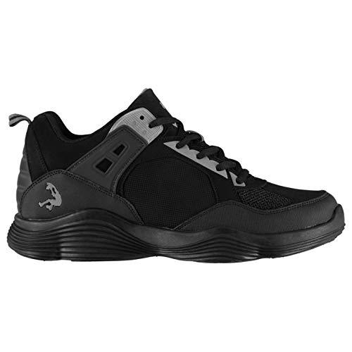 Shaq Diversion - Zapatillas de Baloncesto para Hombre, Color Negro y Gris, Color Negro, Talla 45 EU