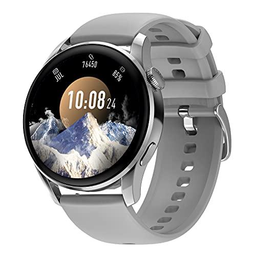 BNMY Smartwatch Relojes Inteligentes Mujer Hombre, Pulsera Actividad Inteligente Impermeable IP68 Reloj Fitness con Pulsómetro, Cronómetros,Calorías, Monitor De Sueño, Podómetro para Android iOS,F
