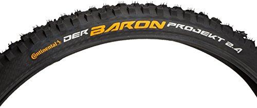 Continental Der Baron Protection Apex 27.5 x 2.4 Fahrradreifen, Schwarz, 27.5