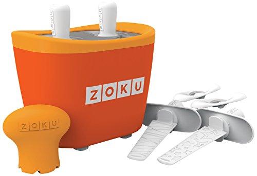 La revolución de los helados en casa y sin cables! El set incluye: molde principal con 2 cavidades; 4 palos reutilizables; 4 bases antigoteo.