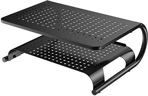 モニター台 机上台 PCスタンド 机上ラック モニタースタンド パソコンスタンド 幅37cm耐荷重20kg