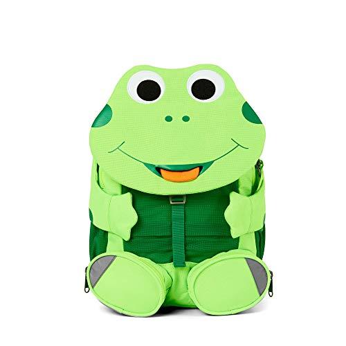 Affenzahn Großer Freund - Kinderrucksack für 3-5 Jährige im Kindergarten - Frosch - Grün