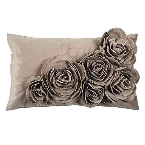 pad Floral Kissenbezug, Polyurethan, 30 x 50 cm