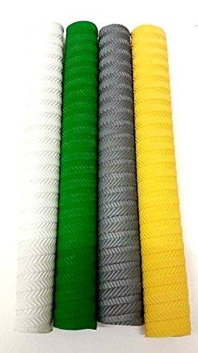Make or Break Set of 3 Premium Cricket Bat Grip Rubber Replacement Handle Non Slip Good Grip Various Styles S05 Set of 3