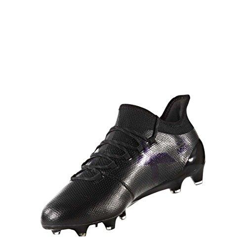 adidas Męskie buty piłkarskie X 17.1 Fg, czarne, czarny - Czarny Core Black Core Black Utility Black - 40 EU