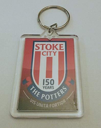 Stoke City FC Football Key Ring