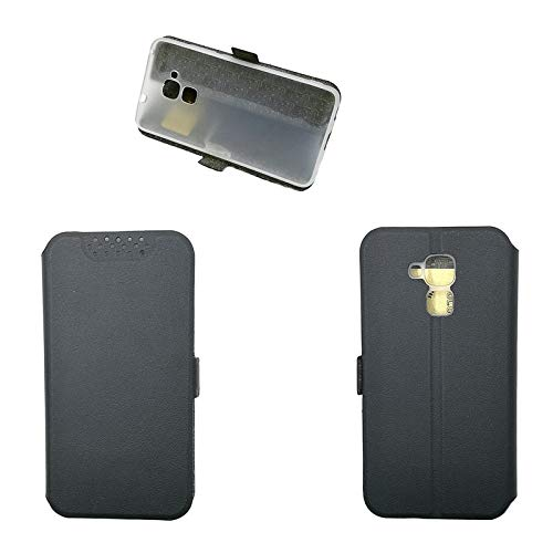 QiongniAN Custodia per Huawei GT3 NMO-L02 NMO-L03 NMO-L22 NMO-L23 NMO-L31 / Honor 5C NEM-L21 NEM-L51 NEM-TL00 NEM-TL00H NEM-UL10 NEM-AL10 / Honor 7 Lite Custodia Case Cover Black