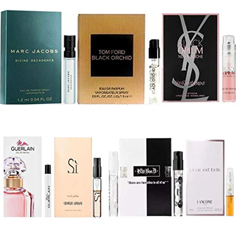 女性用 Eau de Parfum/Eau de Toilette, for Women Samples 8/set [海外直送品] [並行輸入品]