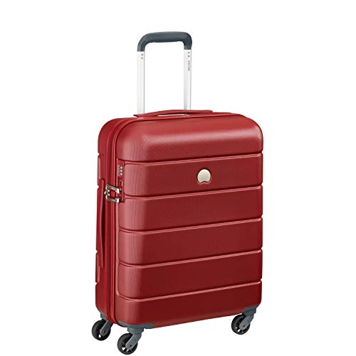 Delsey Paris LAGOS Bagaglio a mano, 55 cm, 44 liters, Rosso (Rot)