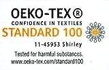 Leonado Vicenti Bettwäsche 135x200 4teilig Renforce 100% Baumwolle Uni mit Reißverschluss (Anthrazit) - 4