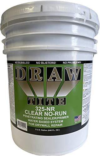 DrawTite Drywall Primer & Sealer, 5 Gallons, Clear No Run SP-325