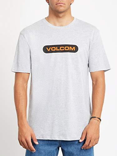 Volcom Herren New Euro BSC SS Kurzärmeliges T-Shirt, Erikaviolett, L
