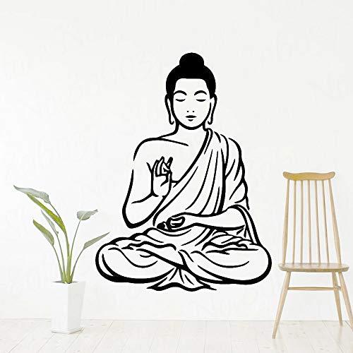 Pegatinas de pared de Buda para decoración del hogar, pegatinas de vinilo para pared, pegatinas para sala de estar, dormitorio, papel tapiz fotográfico, pegatinas decorativas para pared